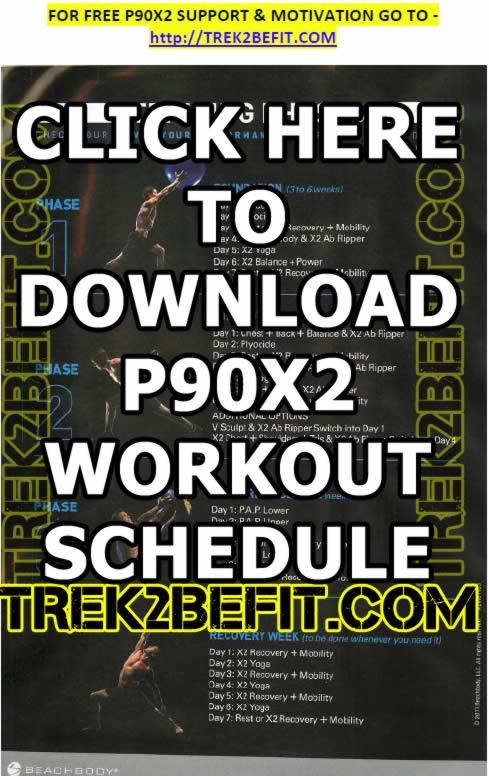 P90x2 Workout Schedule Pdf P90x2 Workout Schedule